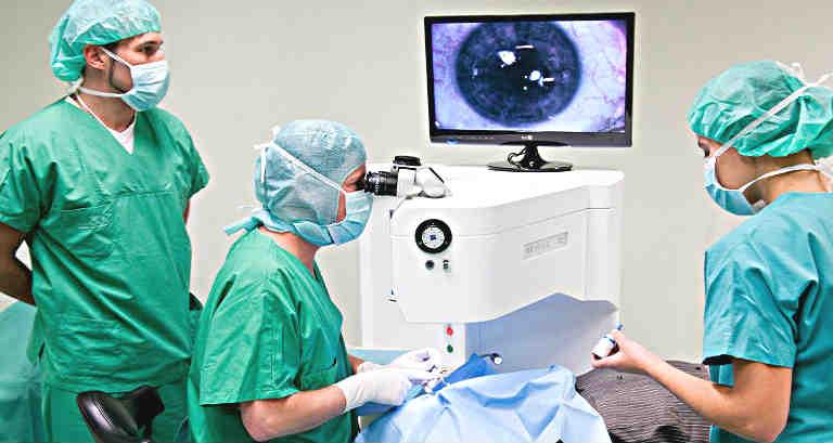 Лазерная коррекция зрения отзывы